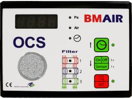 Controlesysteem voor Filteroverdruksysteem OCS040D