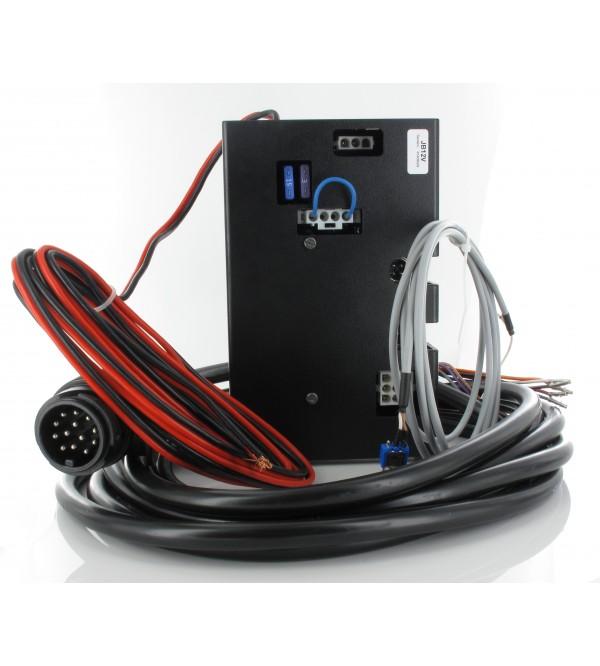 junction box 24 volt met 13 polige kabel. Black Bedroom Furniture Sets. Home Design Ideas