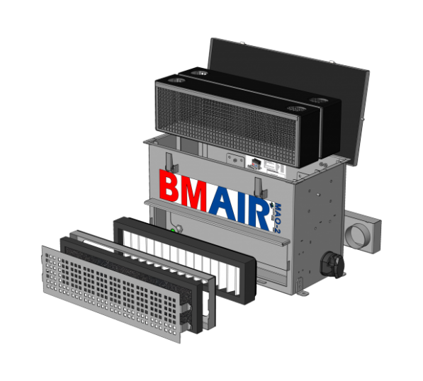 Combifilter ABEK/Hg MAO-12 EN14387 BMAIR 124256