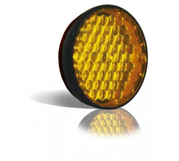 Flitser 200mm met rubberen behuizing Master Amber 20L8LMPBN12/24 (meerdere kleuren)