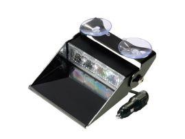 LED Dashboard Flitser 4 LED's Amber 10-30V LED4DDVA