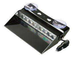 LED Dashboard Flitser 8 LED's Amber 10-30V LED8DDVA