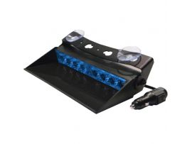 LED Dashboard Flitser 8 LED's Blauw 10-30V LED8DDVB