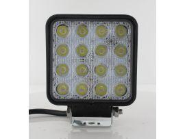 Werklamp LED 16 x 3W 6000K 110 x 110 x 72mm 3120 lumen LL12316