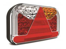 LED Achterlicht rechts 7-functies; achter/rem/knipper/mist/achteruitrij/kentekenverlichting 6 PIN's V10C7-552B6