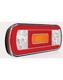 LED Achterlicht L/R 5-functies; achter/rem/knipper/achteruitrijlicht Kabel V10C5-610