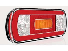 LED Achterlicht L/R 5-functies; achter/rem/knipper/achteruitrijlicht 5 PIN's V10C5-610B5
