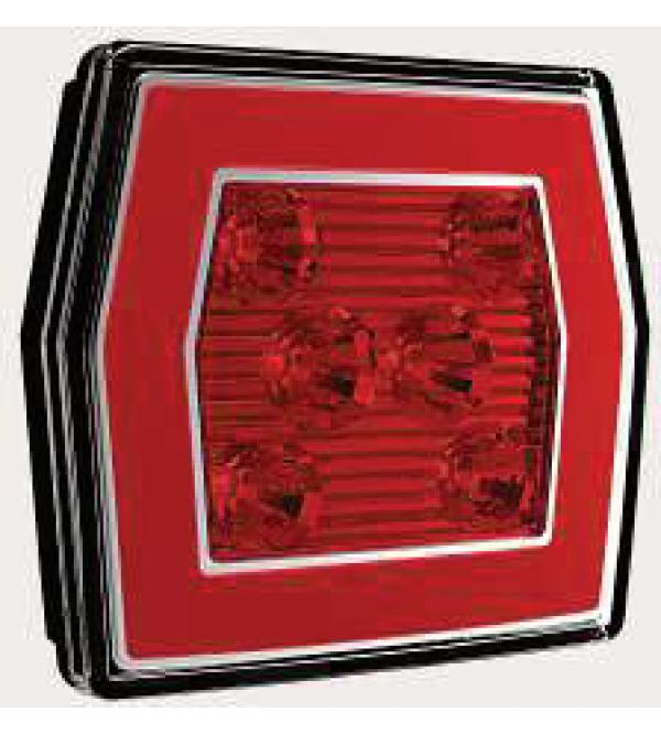 LED Achterlicht L/R 2-functies; achter/mistlicht 5 PIN's V10C2-760B5