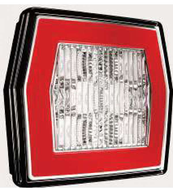 LED Achterlicht L/R 2-functies; achter/achteruitrijlicht 5 PIN's V10C2-770B5