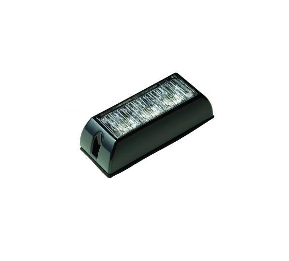 LED Flitser 3 LED's Amber 10-30V LED3DVA