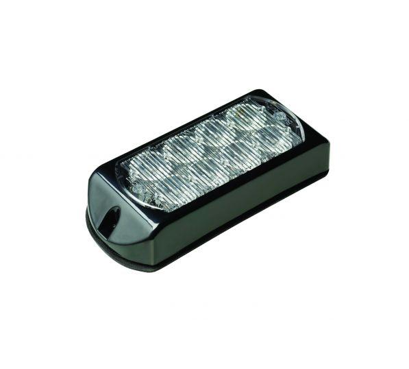 LED Flitser 8 LED's Amber 10-30V LED8DVA