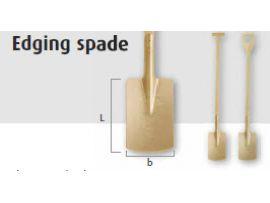 Vonkvrije Spade 1250 mm  met T-Steel 1521160S